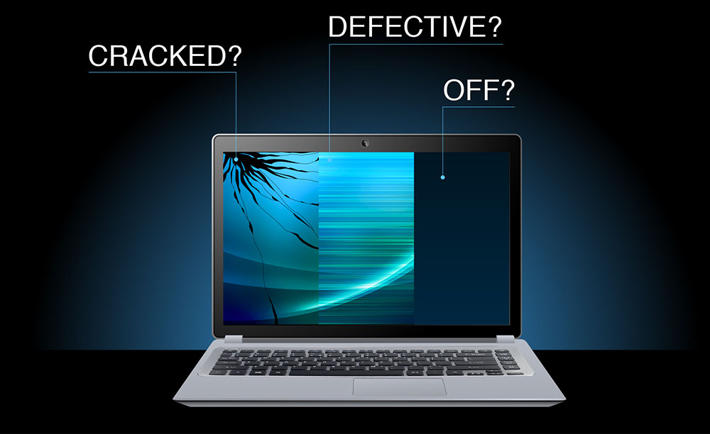How do I know if my screen is broken? | Blog LaptopScreen com