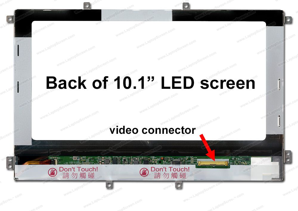 Screen for Toshiba THRIVE AT105-T1032 TABLET. Replacement Laptop LCD