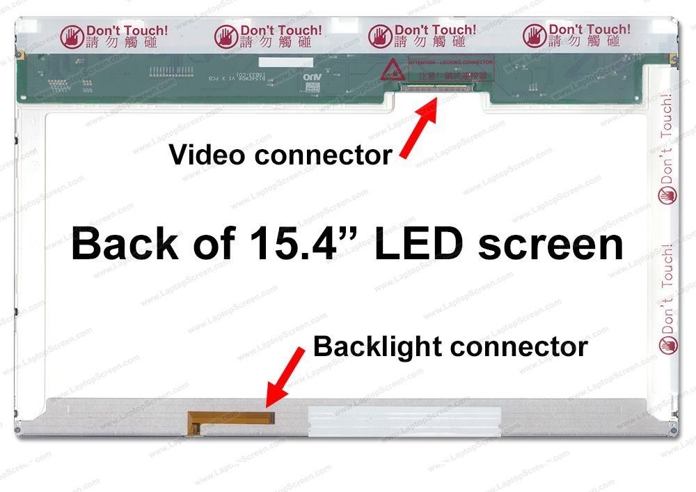 LP154WX7(TL)(B1) Replacement LCD Screens