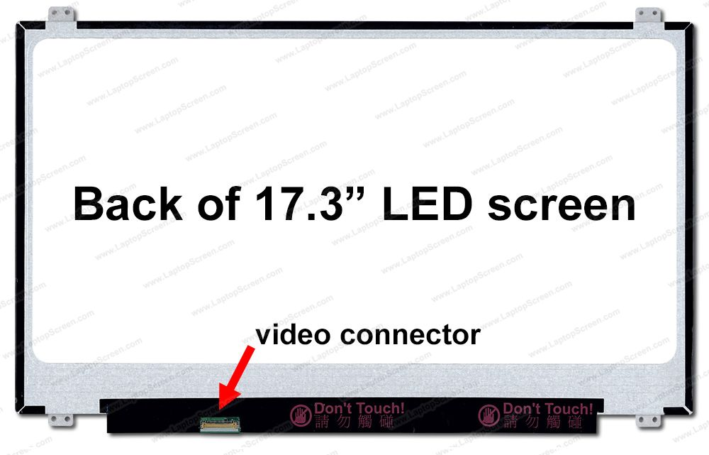 Acer PREDATOR HELIOS 300 PH317-51 SERIES Replacement LCD screen