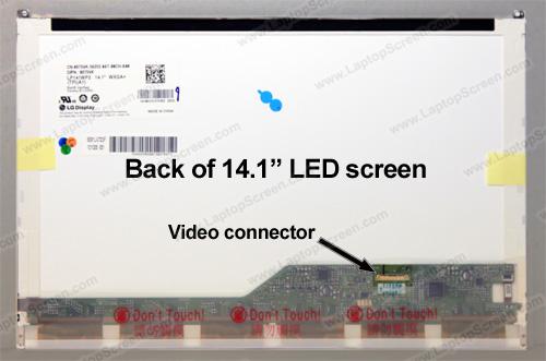 Dell LATITUDE E6410 Replacement LCD Screens