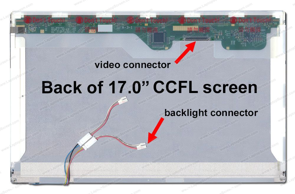 Screen for Toshiba QOSMIO G35-AV600. Replacement Laptop ...
