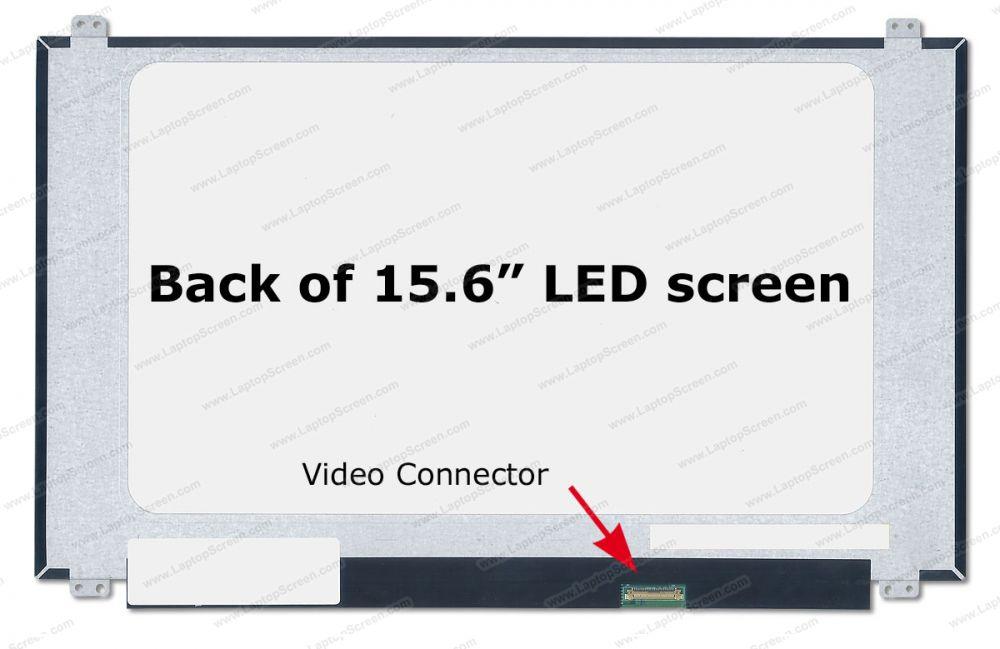 ASUS VIVOBOOK F510UA Replacement LCD screen