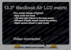 Apple MACBOOK AIR 13 MODEL A1466 (2017) Bildschirmwechsel