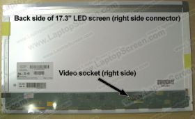 p/n B173RW01 V.0 screen replacement