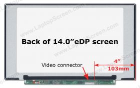 p/n B140HTN02.0 HW0A screen replacement