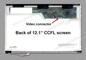 HP-Compaq PRESARIO B1820TU screen replacement