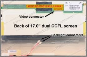 Fujitsu LIFEBOOK N6010 screen replacement