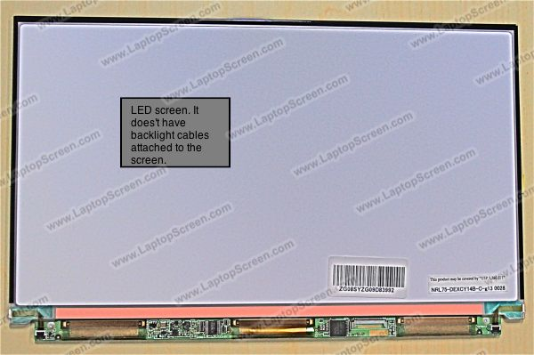 LCD screen with LED backlight ( Backlight Type: LED )