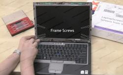 Dell Latitude D620 screen replacement