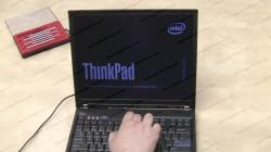 IBM ThinkPad T60 LCD screen replacement guide