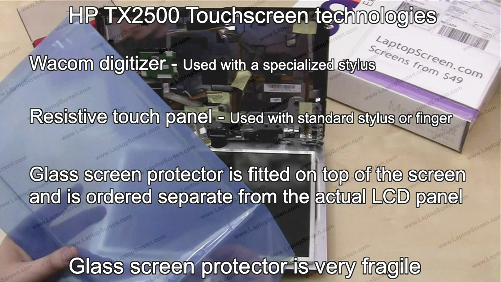 HP-Compaq TOUCHSMART 14-R121NE Replacement LCD Screens