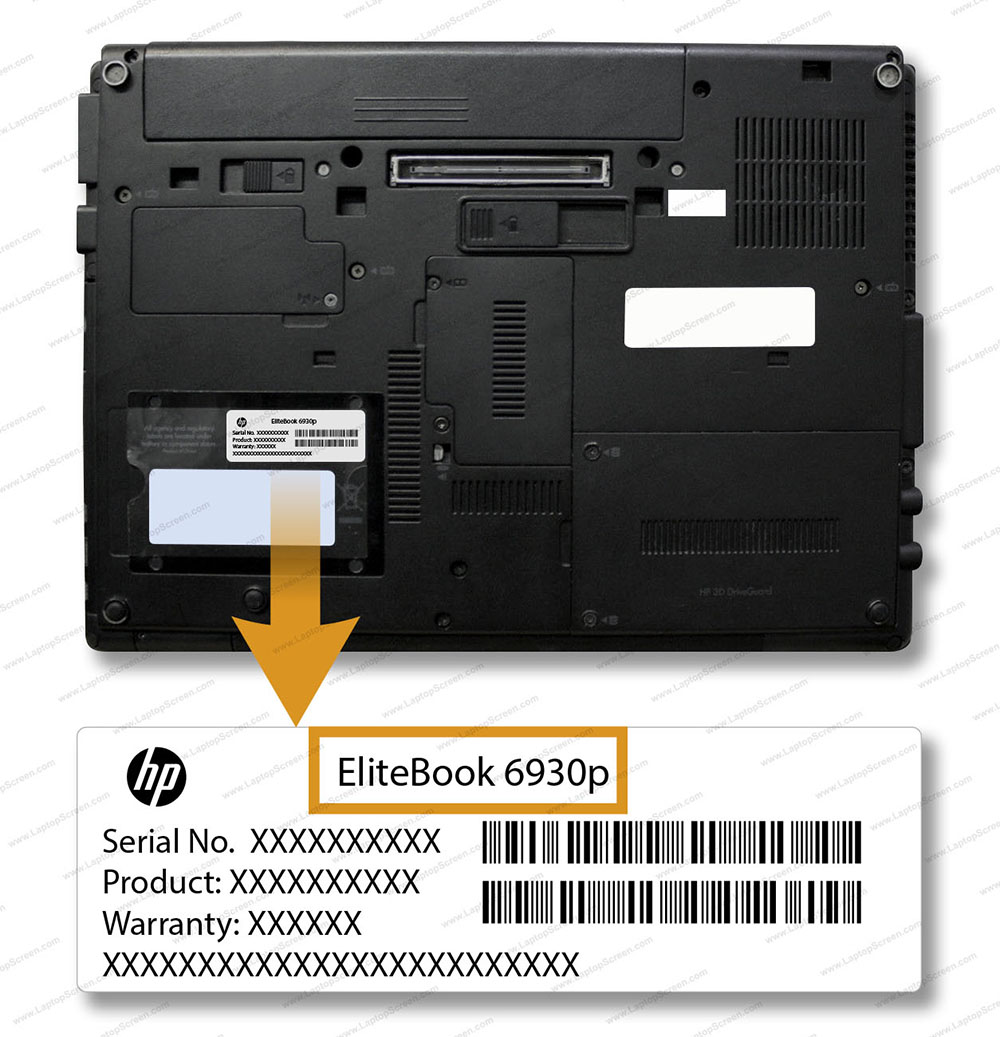 How to find model number of your laptop   LaptopScreen com